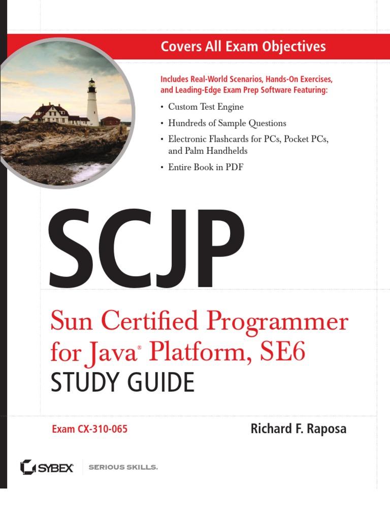 Scjp Exam Dumps 2015 And Study Guide